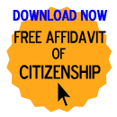 Free Affidavit of Citizenship Form