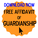Free Affidavit of Guardianship Form