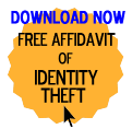 Free Affidavit of Identity Theft Form