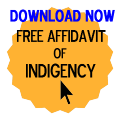 Free Affidavit of Indigency Form
