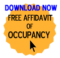 Free Affidavit of Occupancy