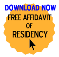 Free Affidavit of Residency Form
