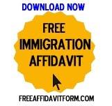 Free Immigration Affidavit Forms