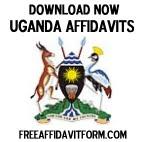 Free Uganda Affidavit Forms