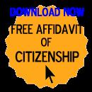 Free Affidavit of Citizenship Form