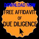 Free Affidavit of Due Diligence