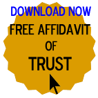 Free Affidavit of Trust Form