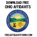 Free Ohio Affidavit Form