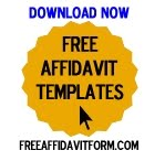 Free Affidavit Templates
