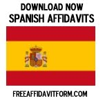 Free Spanish Affidavit Forms