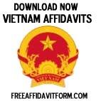 Free Vietnam Affidavit Forms